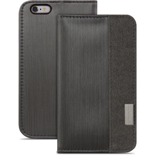 Funda folio Overture para iPhone 6 Plus/6s Plus Moshi Negro