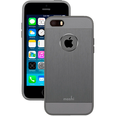 Funda iGlaze Armour para iPhone 5/5s/SE Moshi Gris