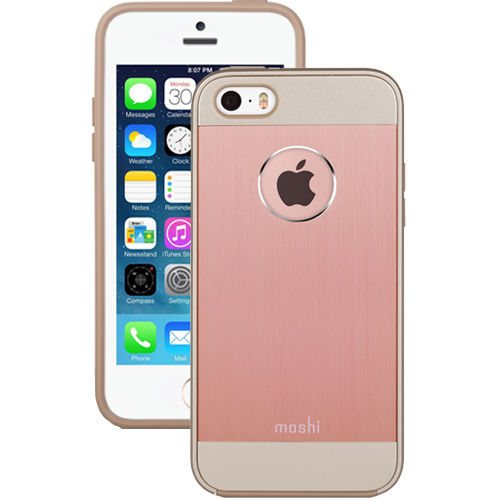 Funda iGlaze Armour para iPhone 5/5s/SE Moshi Rose Gold