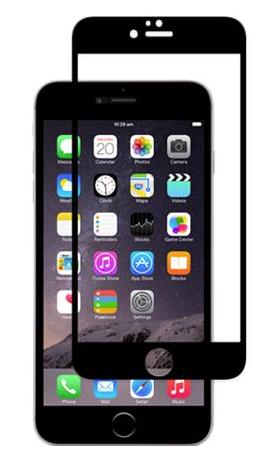 Lámina de pantalla iVisor Glass para iPhone 6 Moshi Negra