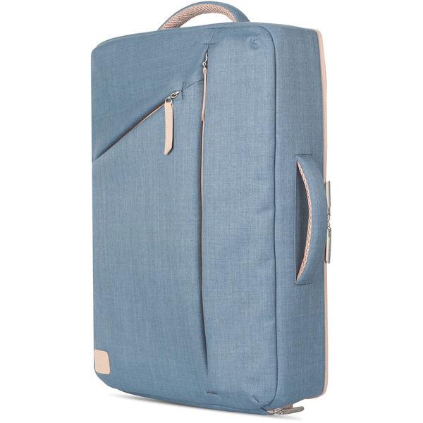 """Mochila delgada para MacBook Pro 15"""" Venturo Azul Acero"""