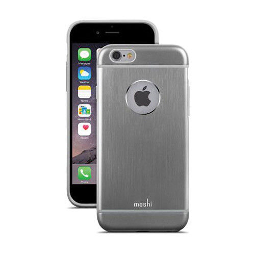 Funda iGlaze Armour para iPhone 6 Moshi Gris