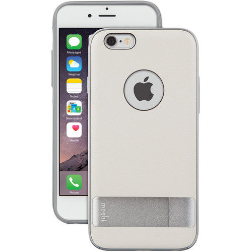 Funda iGlaze para iPhone 6 Kamaleon Moshi Blanca