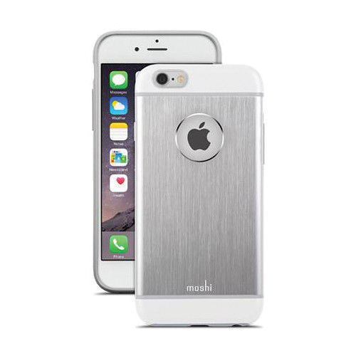 Funda iGlaze Armour para iPhone 6 Moshi Silver