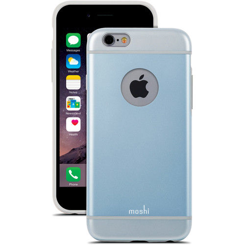 Funda iGlaze Case para iPhone 6 Moshi Azul