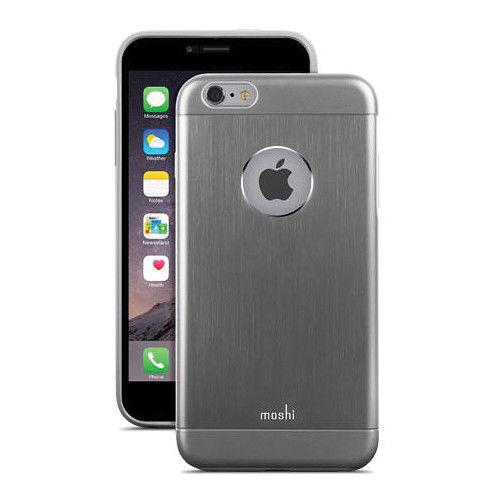 Funda iGlaze Armour para iPhone 6 Plus Moshi Gris