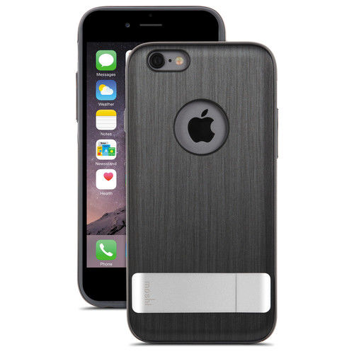 Funda iGlaze para iPhone 6 Plus Kamaleon Moshi Negra