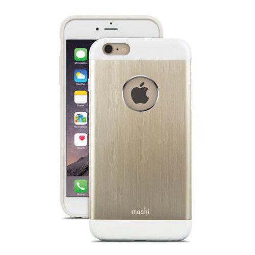 Funda iGlaze Armour para iPhone 6 Plus Moshi Dorada