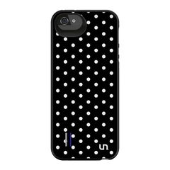 Funda con Batería Mini Dots para iPhone 5/5s Uncommon Negra