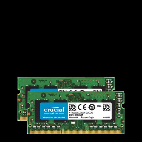 Kit Memoria 8GB (4GB x 2) DDR3-1600/PC3-1600 (MBP Jun 2012)