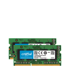 Kit Memoria 8GB (4GB x 2) DDR3-1600/PC3-1600 (MBP Jun 2012)