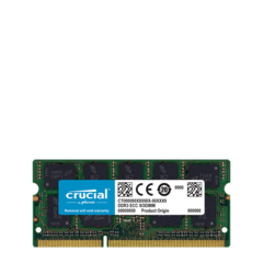 Memoria 4GB DDR3-1066/PC3-8500 (MacBook - MacBook Pro 10/2008) Crucial