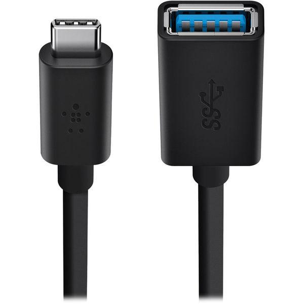 Cable USB-C a USB Adaptador hembra 13 Cm. Belkin