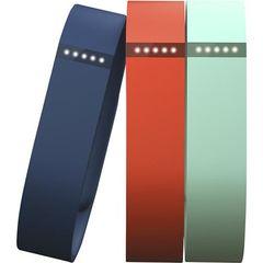 Correas pulsera para Fitbit Flex 3 unidades grande Azul/ Calipso/ Rojo