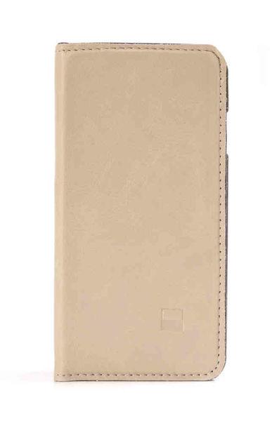 Funda Folio Cuero para iPhone 6/6s Slim Folder Golla Beige