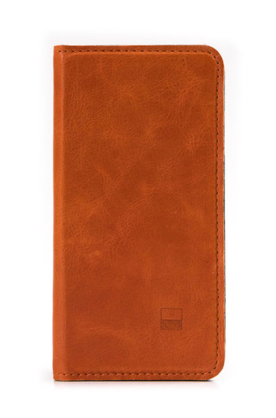 Funda Folio Cuero para iPhone 6/6s Slim Folder Golla Naranjo