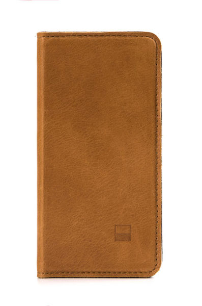 Funda Folio Cuero para iPhone 6/6s Slim Folder Golla Cafe