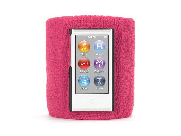 Brazalete deportivo para iPod nano 7ª Gen Griffin Rosado
