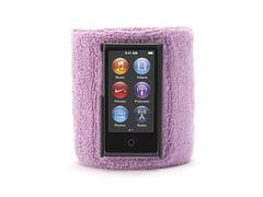 Brazalete deportivo para iPod nano 7ª Gen Griffin Púrpura