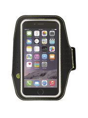 Brazalete deportivo para iPhone 6/6s Trainer Griffin Negro