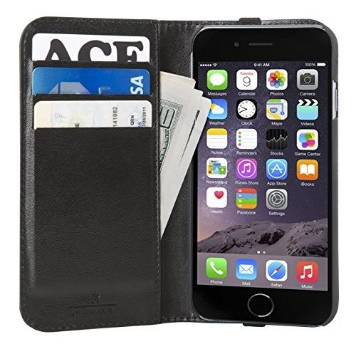Funda folio para iPhone 6/6s Wallet Case Hex Café