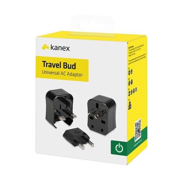 Adaptador para viajes Travel Bud Kanex Negro