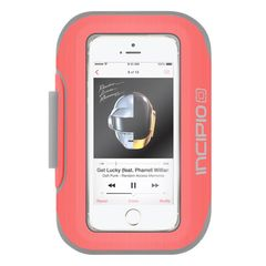 Brazalete deportivo para iPhone SE / 5s Incipio Coral