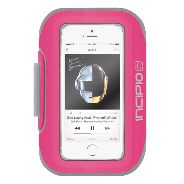 Brazalete deportivo para iPhone SE / 5s Incipio Magenta