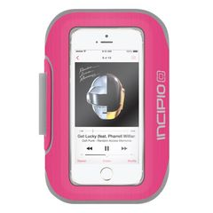Brazalete deportivo para iPhone 5/5s Incipio Magenta