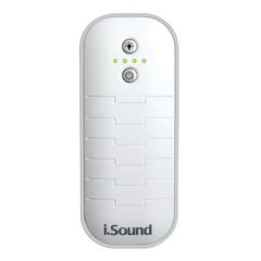 Batería portable + linterna de 2600 mAh, 2.4 amp iSound Blanca