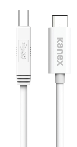 Cable USB-C a Standard-B Cable 1.2 Mt Kanex