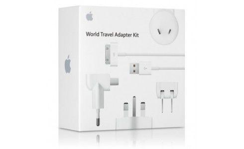 Kit de adaptadores de viaje iPod/iPhone/iPad