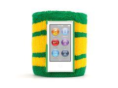 Brazalete deportivo para iPod nano 7ª Gen Griffin Verde / Amarillo