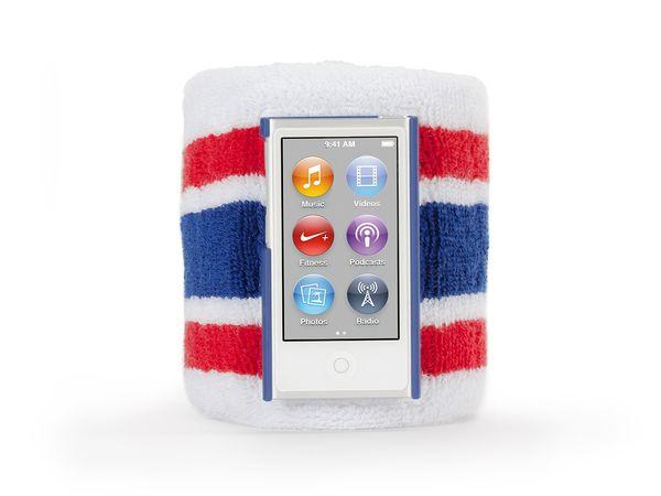Brazalete deportivo para iPod nano 7ª Gen Griffin Tricolor