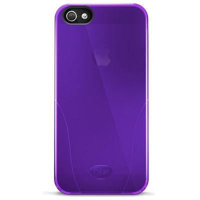 Funda dura para iPhone 5/5s/SE iSkin Solo Morado
