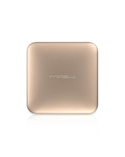 Batería portátil PowerCube Aluminium de Mipow 4500 mAh Dorado (M)