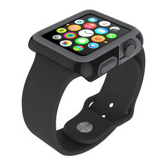 Protector para Apple Watch 38mm CandyShell Speck Black/ Slate Grey