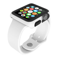 Protector para Apple Watch 38mm CandyShell Speck White/Black