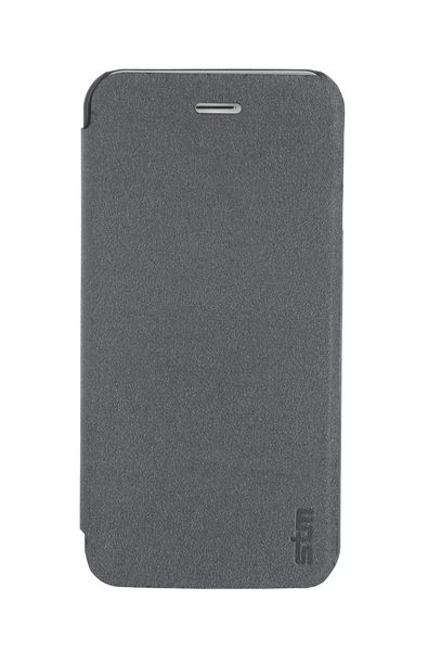 Funda folio flip case para iPhone 6 Plus/ 6s Plus STM Negro