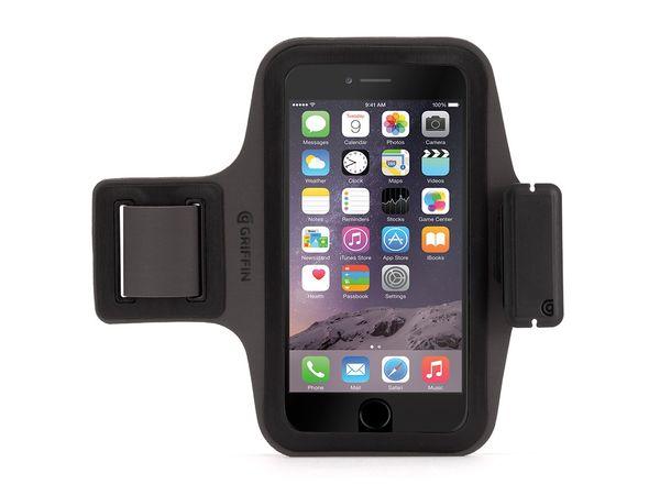 3517b1d6c85 Brazalete deportivo para iPhone 6 Plus/6s Plus Trainer Griffin Negro ...