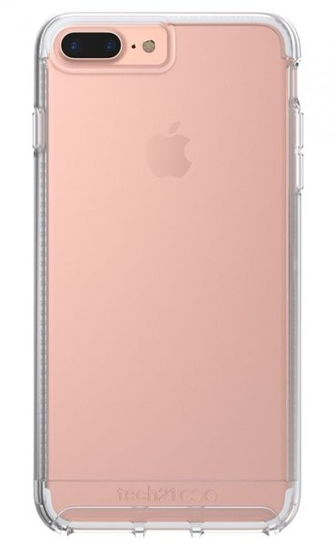 Funda dura para iPhone 7 Plus Impact Clear Tech21 Transparente