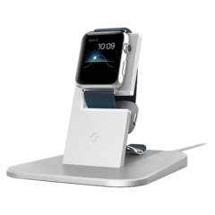 Base para Apple Watch Twelve South HiRise Silver