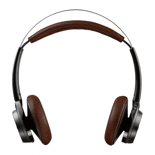 Audífono On-Ear Bluetooth Plantronics BackBeat Sense Negro / Café Espresso