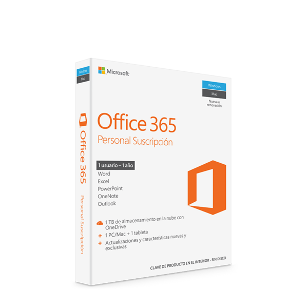 Office 365 Licencia para 1 Año Microsoft
