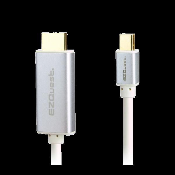 Cable mini Display Port a HDMI EZQuest 1.8 Mts Blanco