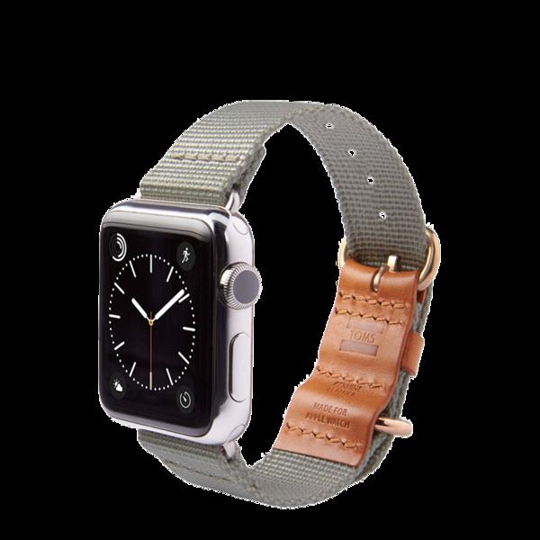 Banda para Apple Watch 38mm TOMS Gris