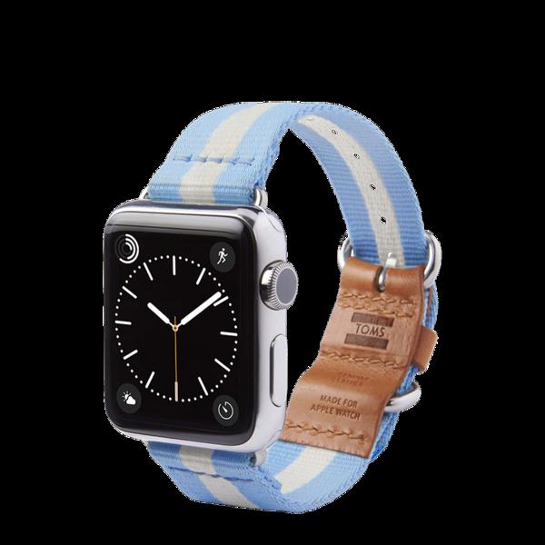 Banda para Apple Watch 38mm TOMS Azul claro