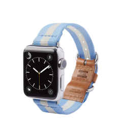 Banda para Apple Watch 38mm TOMS Azul claro