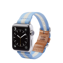 Banda Apple Watch 42mm TOMS Azul claro