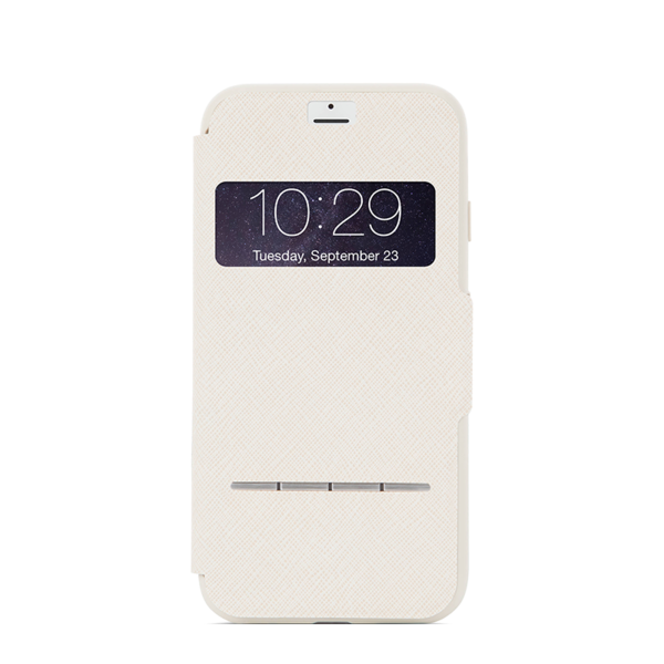 Funda dura SenseCover para iPhone 7 Moshi Beige